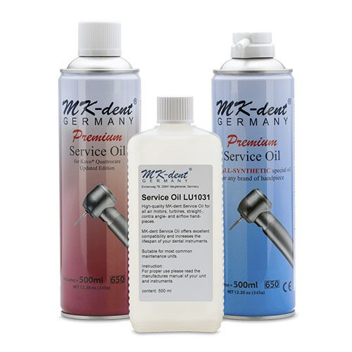 Handpiece Lubricant Spray Cleaning Lubricating Oil Care